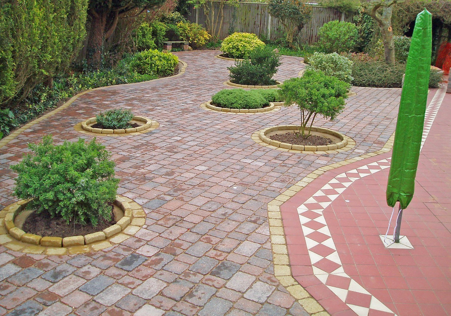 disability friendly low maintenance garden design star